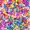 Bow Beads (Farfalle) 3.2x6.5mm Candy Mix